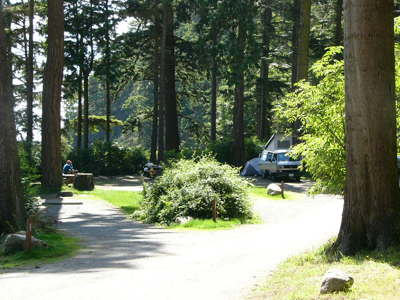 Camping deception pass park foundation for Camping grounds with cabins